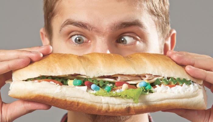 Лекарство в еде
