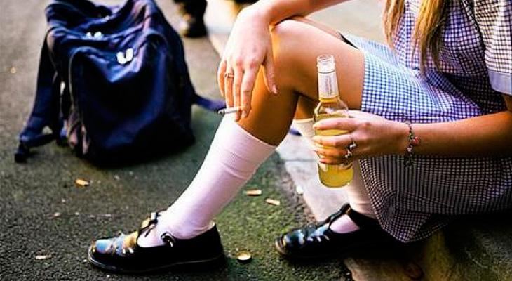 Подрастковый алкоголизм