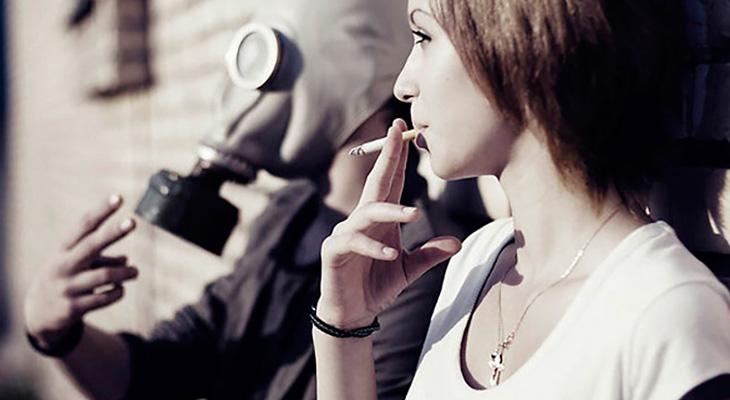 Пассивное курение и здоровье