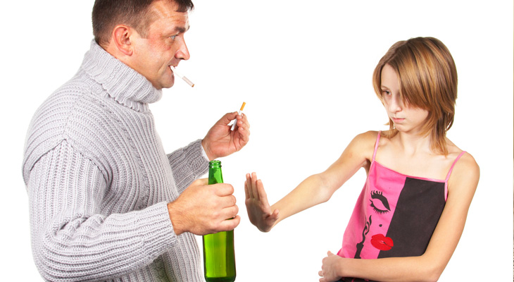Ребенок и алкоголизм