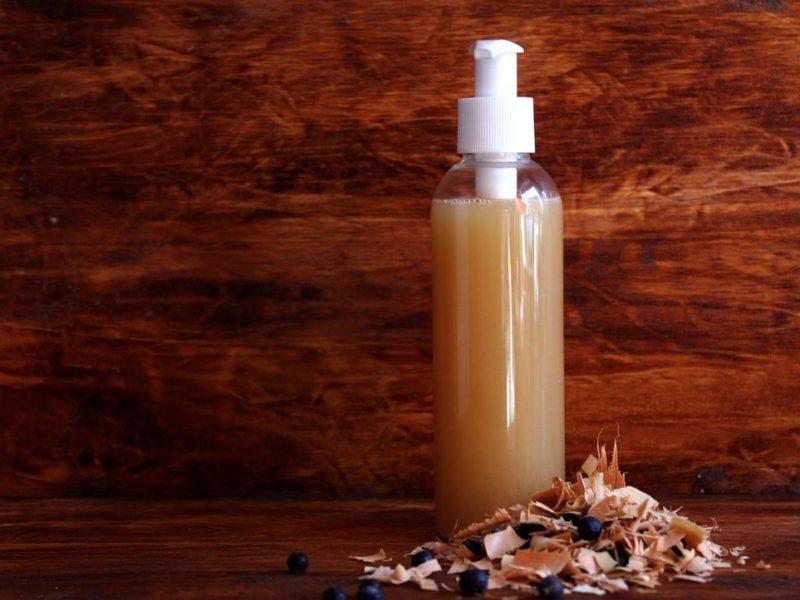 Дегтярный шампунь от перхоти и выпадения волос