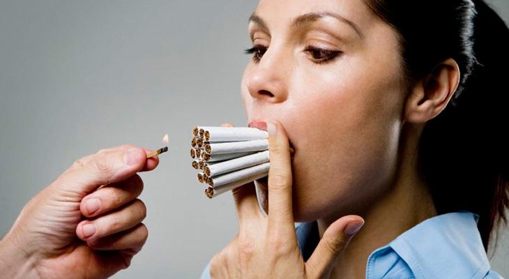 Сигареты влияют на внешность
