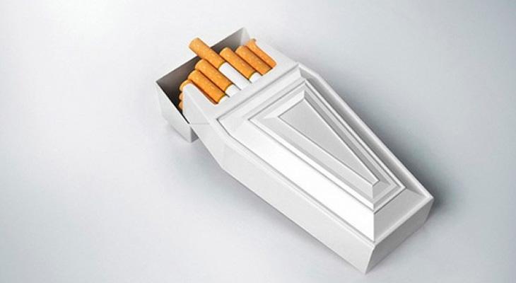 Сигареты ведут к смерти