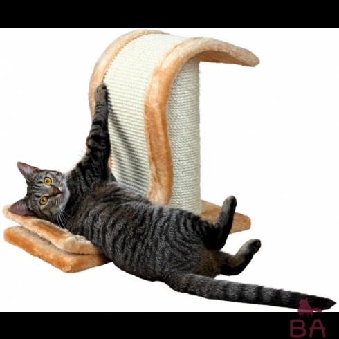 Как приучить кошку к когтеточке?