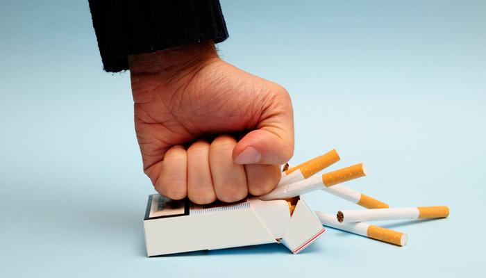 Давить сигареты