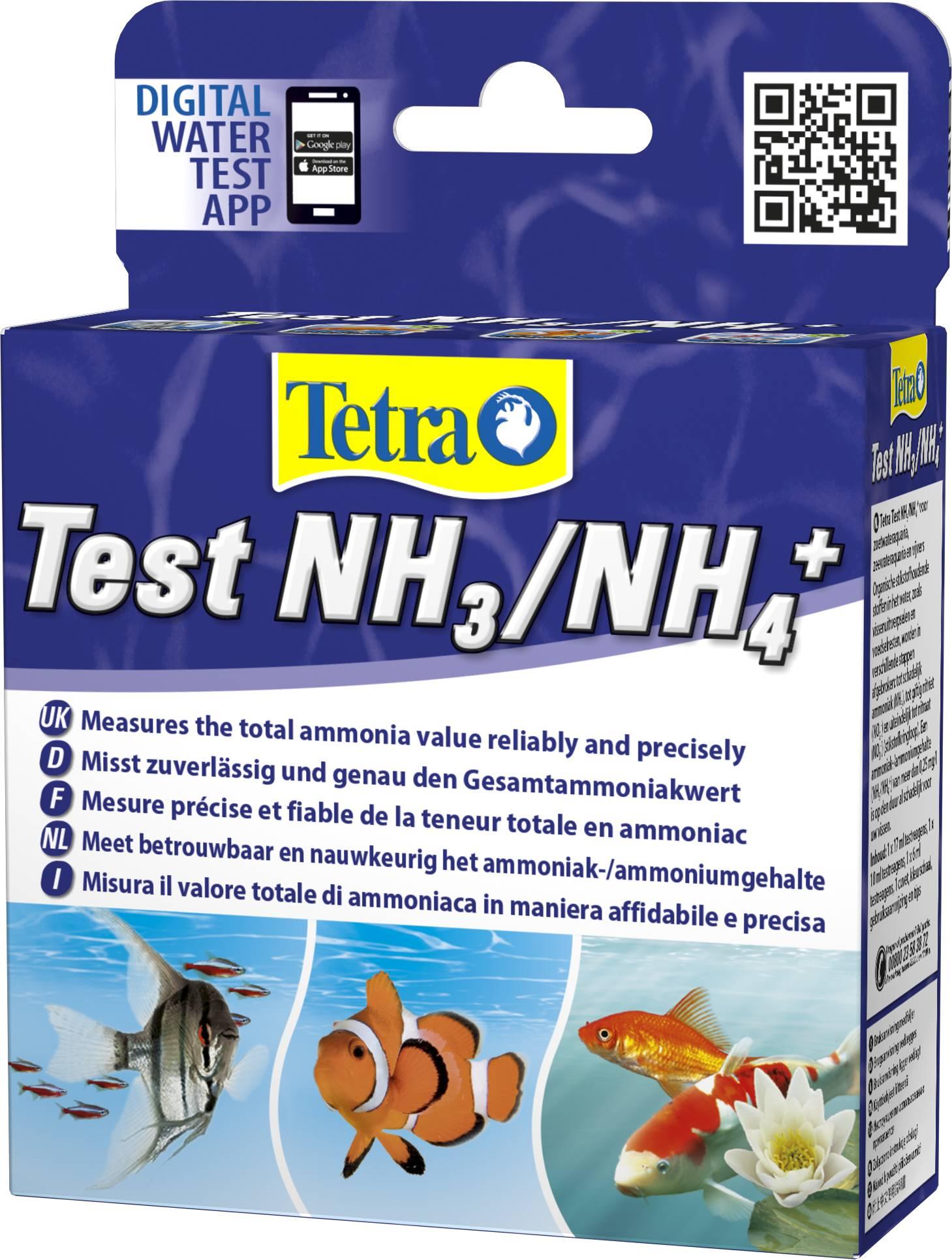 NH3 NH4 аквариумный тест