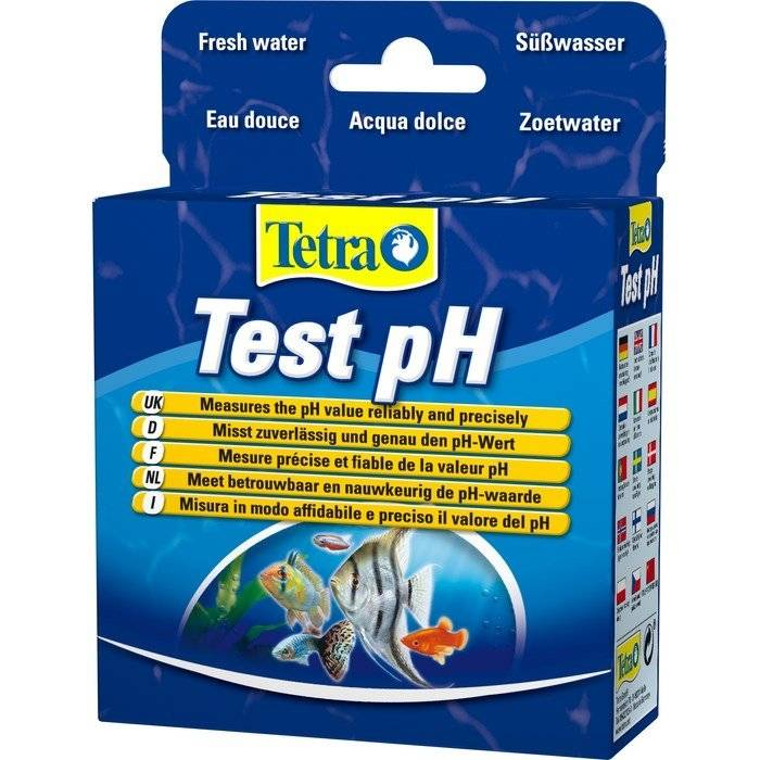 pH аквариумные тесты