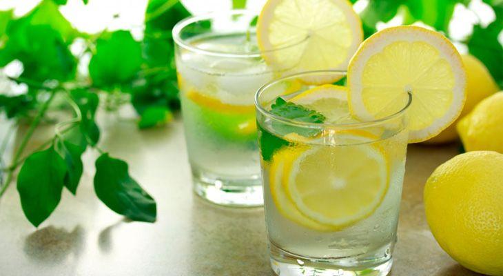 Лимонная вода