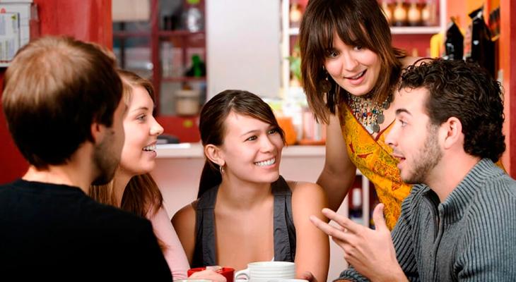 Общение с не курящими друзьями