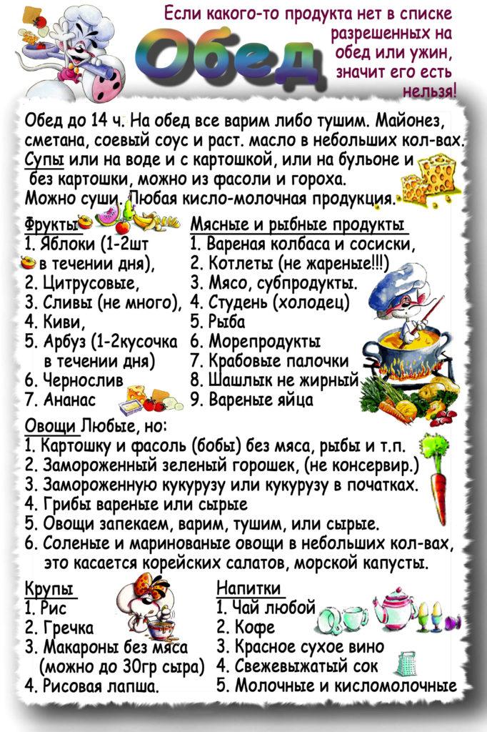 Екатерина Мириманова Диета Рецепты