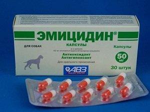 эмицидин инструкция по применению для собак