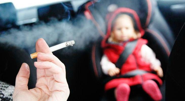 Пасивное курение для ребенка