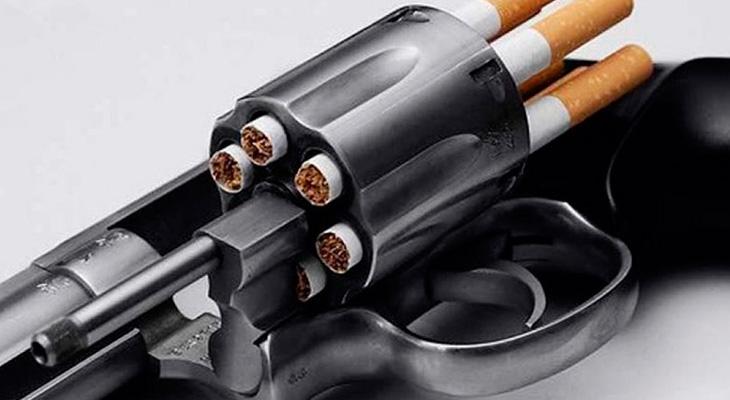 Сигареты в револьвере