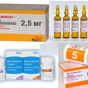 Лечение псориаза метотрексатом
